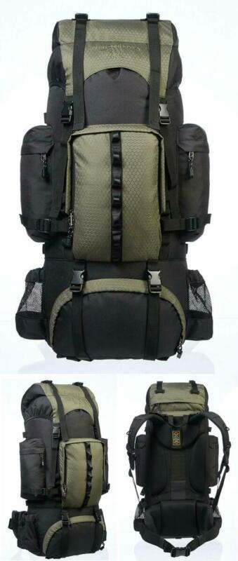 internal frame hiking backpack rainfly with padded