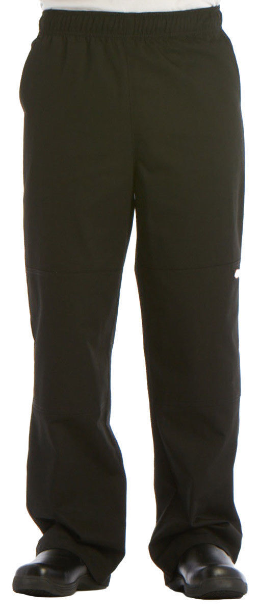 Dickies Chef Men/'s Comfortable Durable Double Knee Baggy Chef Pant DC15