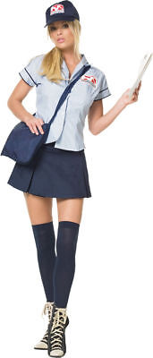 Womens Sexy Mail Delivery Costume  Leg Avenue 83080 Sizes m and L](Delivery Costume)