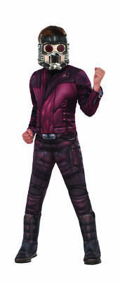 Rubies Marvel Avengers 4 Endspiel Star Lord Deluxe Kinder Halloween - Deluxe Kinder Star Lord Kostüm