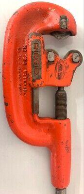 Rigid No 2a Heavy Duty Pipe Cutter 18-2 In. - Red Ridgid Heavy Duty Roc016397