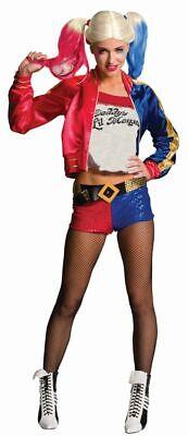 Damen Kostüm Harley Quinn Karneval (Harley Quinn Halloween-kostüm)