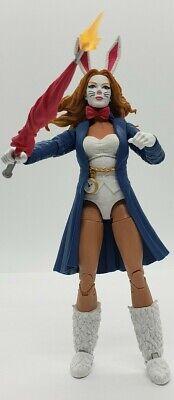 Marvel Legends Spider-Man White Rabbit Figure (Demogoblin BAF)  NO BAF PIECE