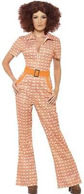 70's Girl Kostüm NEU - Damen Karneval Fasching Verkleidung Kostüm