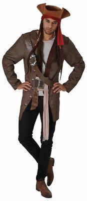 Jack Der Pirat-kostüm (Rub - Fluch der Karibik 5 Herren Kostüm Pirat Jack Sparrow)