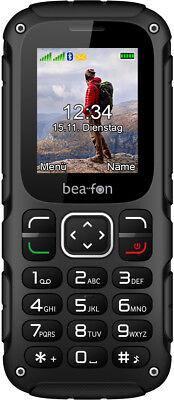 Bea-fon AL450 Schwarz-Rot Dual-SIM IP54 micro-USB Handy BRANDNEU Schwarz Dual Usb