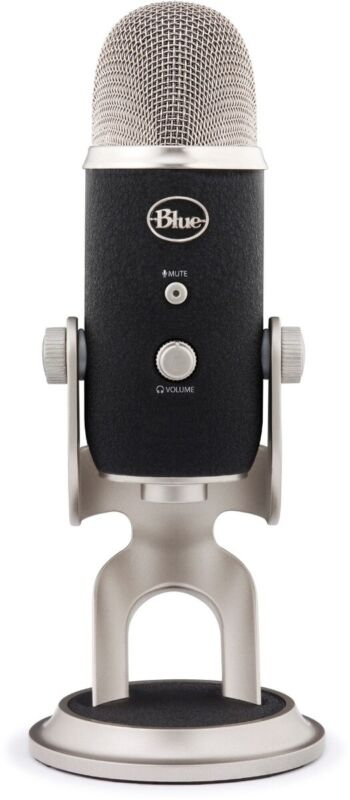 Blue Microphones Yeti Pro XLR / Condenser Microphone - Black/Silver (IL/RT6-1...