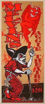 2004 Melvins - Fort Collins Silkscreen Concert Poster s/n by Lindsey Kuhn