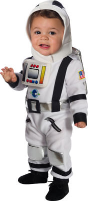 Rubies Lil Astronaut Jumpsuit Space Cute Infant Toddler Halloween Costume 510530