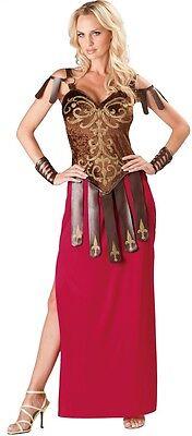 Damen Sexy Lang Römische Gladiator Krieger Griechische Kostüm - Römische Gladiator Outfit