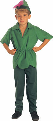 Morris Costumes Boys Polyester Peter Pan Complete Outfit 8-10. RU18905MD (Peter Pan Costumes For Boys)