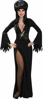 Morris Costumes Women's Tv & Movie Character Elvira Deluxe Costume M. RU888749MD