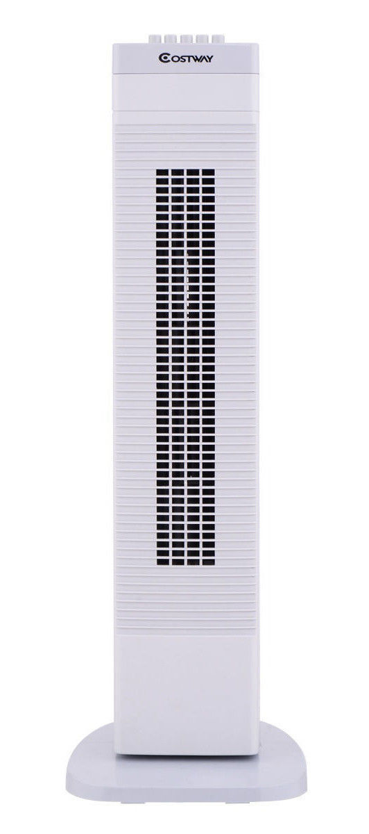 """Costway 30"""" Tower Fan Portable Oscillating Cooling Bladeless"""