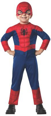 Rubies Marvel Comics Spider-Man Muscle Chest Toddler Halloween Costume 620009 (Toddlers Spiderman Costume)