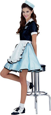 Morris Costumes Adult Women's Retro 1950S Back Style Costume 8-12. RU15917 - 1950's Style Halloween Costumes