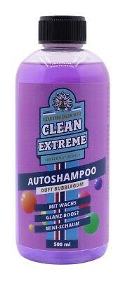 Cleanextreme Champu de Coche Con Cera Bubblegum Aroma Concentrado 500ml