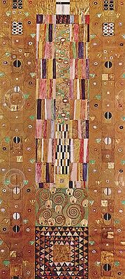 Pattern for the Stoclet Frieze, around 1905/ Gustav Klimt Art Print Poster 13x19 ()
