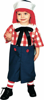 Morris Costume New Toddler Rag Raggedy Andy Doll Sailor Costume. 12113 (Raggedy Andy Costume Toddler)