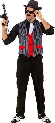 Orl - Herren Kostüm 20er Jahre Ganoven Mafia Weste - Herren Mafia Kostüm
