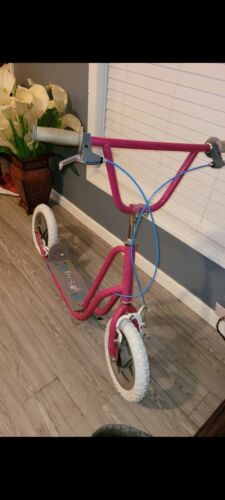 Rare Vintage BMX Freestyle Pink HTX Curb Cruiser