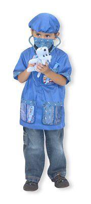 Melissa & Doug Tierarzt Vet Outfit Kostüm Rollenspiel Verkleidung (Tier Arzt Kostüm)