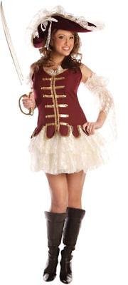 Morris Costumes Adult Women's Beautiful Pirate Treasure Costume M. UR28914MD](Treasure Costume)