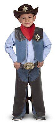 Melissa & Doug Wild West Cowboy Outfit Kostüm Rollenspiel - Cowboy Spieler Kostüm
