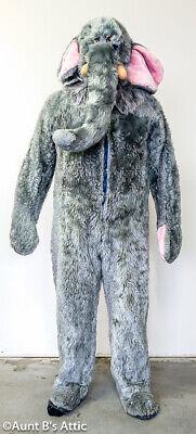 Spats, Gaiters, Puttees – Vintage Shoes Covers Elephant Costume 2 Pc Gray Faux Fur Jumpsuit W/ Attached Spats & Mitts Head M/L $49.98 AT vintagedancer.com