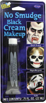Morris Costumes New No Smudge Full Color Blister Card Black Makeup Kit. FW9469BK