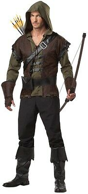 Robin Hood - Adult Hooded Archer Costume