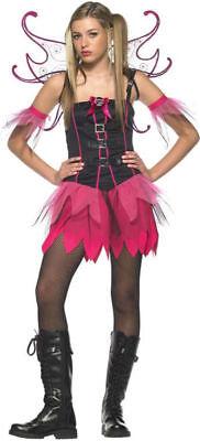 Morris Costumes Women's Fairies & Angel Dress Dark Pixie Costume M/L. UA48009TML - Dark Pixie Halloween Costume