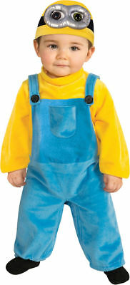 Morris Costumes Kid's Unisex Minion Bob Toddler Romper 3-4T. RU510050](Minion Costume 4t)