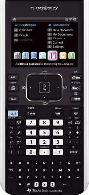 TI-Nspire CX Texas Instruments Grafikrechner Color-Display Farbanzeige