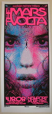 2008 The Mars Volta - Columbus Silkscreen Concert Poster S/N by Mike Martin