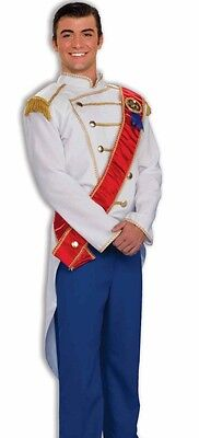 Prince Charming Deluxe Costume Adult Mens Disney Cinderella - Fast Ship - - Mens Disney Costume