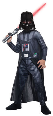 Morris Costumes Boys Long Sleeve Darth Vadar Complete Outfit S. RU610699SM (Darth Vadar Costumes)