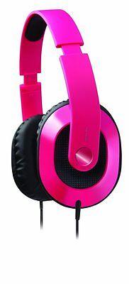 Creative HQ-1600 Kopfbügel Kopfhörer Rosa pink Headset Hörer Design Over Ear