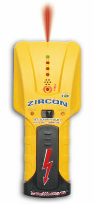 Zircon 61903 StudSensor Pro SL-AC Stud Finder Wood Metal Thick Walls AC Warning