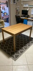 Timber dining table - great condition