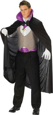 Vampire Halloween Costumes Men (Morris Costumes Men's Deluxe Vampire Classic Halloween Complete Outfit.)