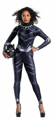 Marvel Comics The Avengers Deluxe Black Panther Costume Womens XS-LG