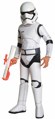 Morris Costumes Boys Star War Deluxe Stormtrooper Child Costume 8-10. RU620094MD (Stormtrooper Costume Boys)