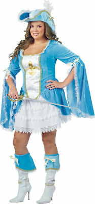 Morris Costumes Women's Disney Madam Musketeer Dress Costume 16-20. FW121455 (Disney Halloween Costumes Women)