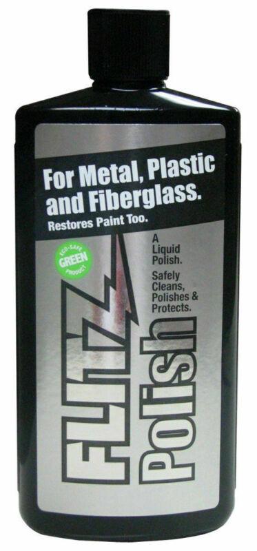 Flitz LQ04535 All Purpose Polish for Metal Plastic & Fiberglass 3.4 oz Bottle