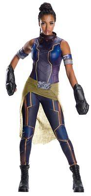 Shuri Costume Adult Black Panther Avengers Superhero Halloween Fancy Dress - MED