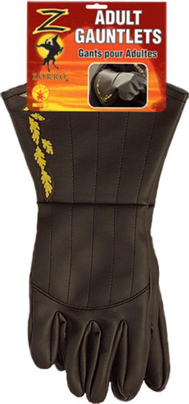Morris Costumes Zorro Adult Gauntlets. RU6558