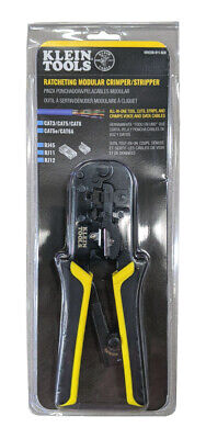 Klein Tool Ratcheting Modular Crimperstripper