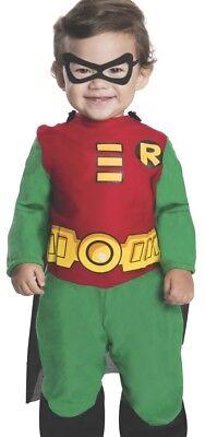 Babys Childs Superhero Teen Titan Robin Batman Sidekick Infant & Toddler - Toddler Batman And Robin Costumes