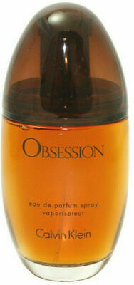Calvin Klein OBSESSION Eau de Parfum Perfume for Women 3.4 Oz