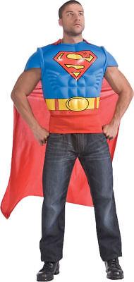 Morris Costumes Men's Superheroes & Villains Superman Muscle Cape 44. - Superman Villain Costumes